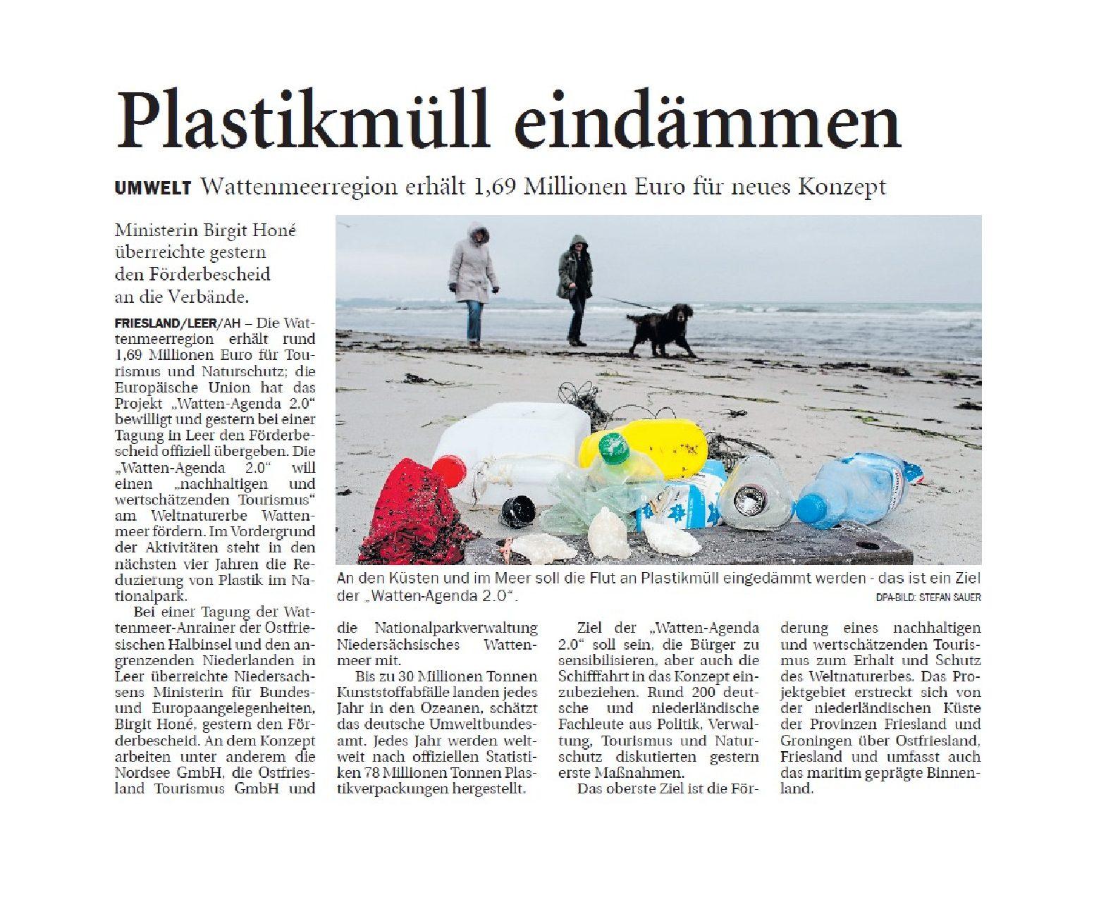 Jeversches Wochenblatt 04.12.2018