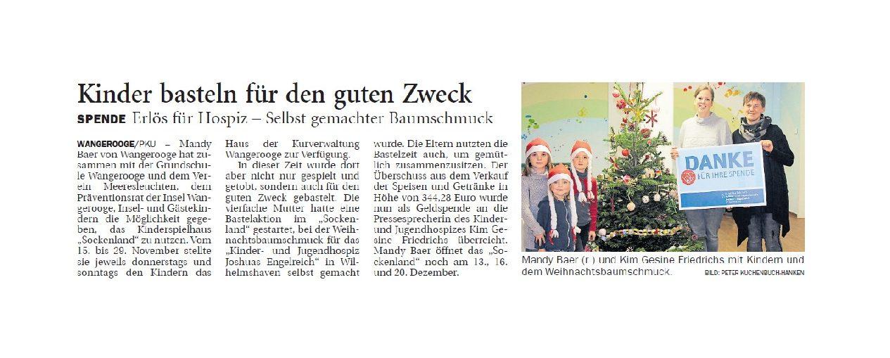 Jeversches Wochenblatt 11.12.2018