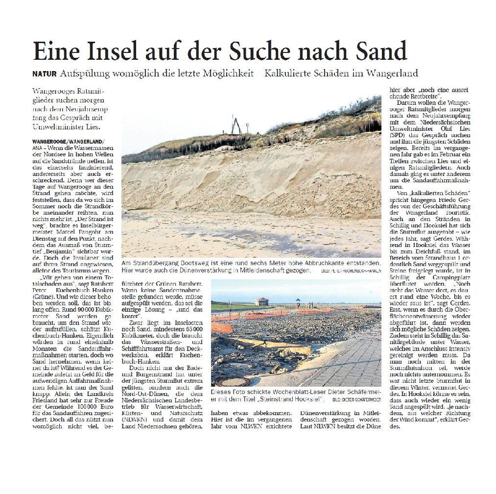 Jeversches Wochenblatt 12.01.2019
