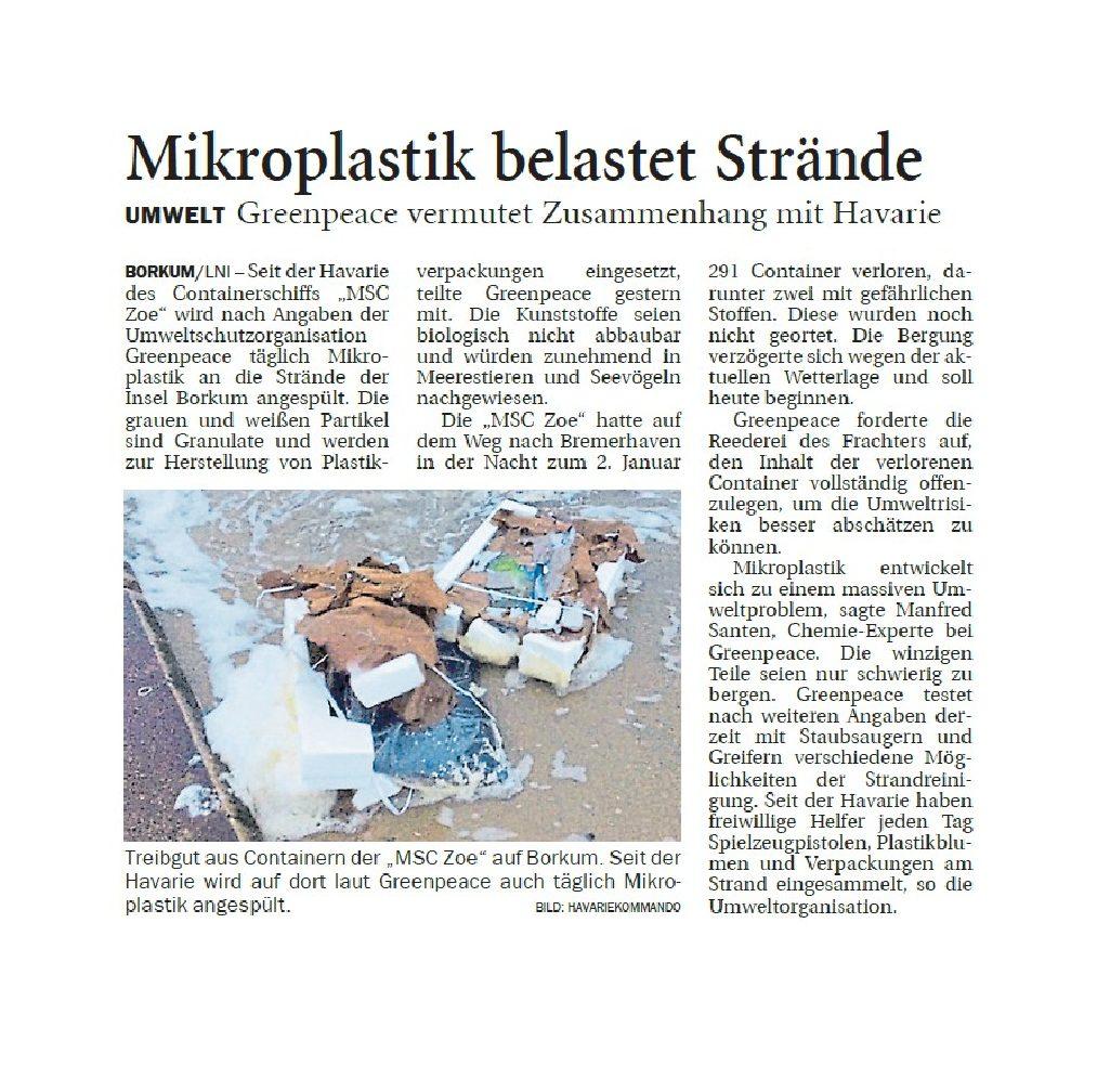 Jeversches Wochenblatt 16.01.2019 II
