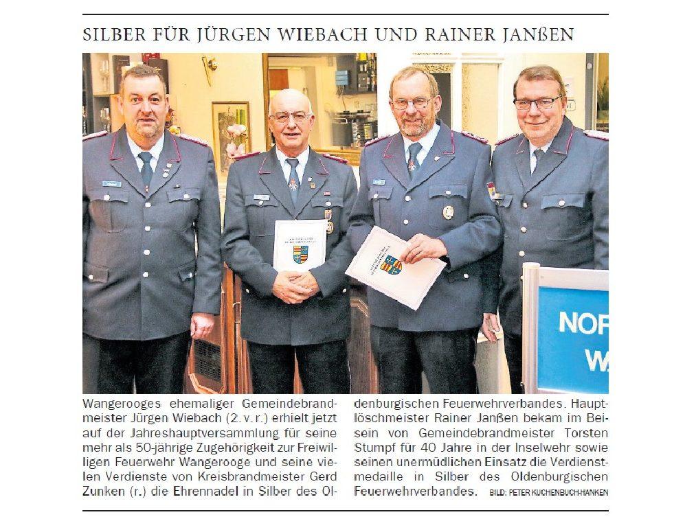 Jeversches Wochenblatt 17.01.2019
