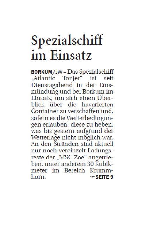 Jeversches Wochenblatt 17.01.2019 VI