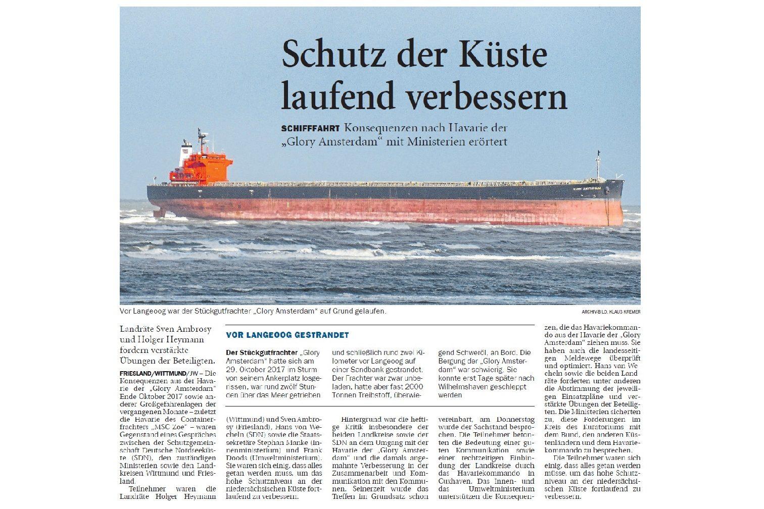 Jeversches Wochenblatt 19.01.2019 II
