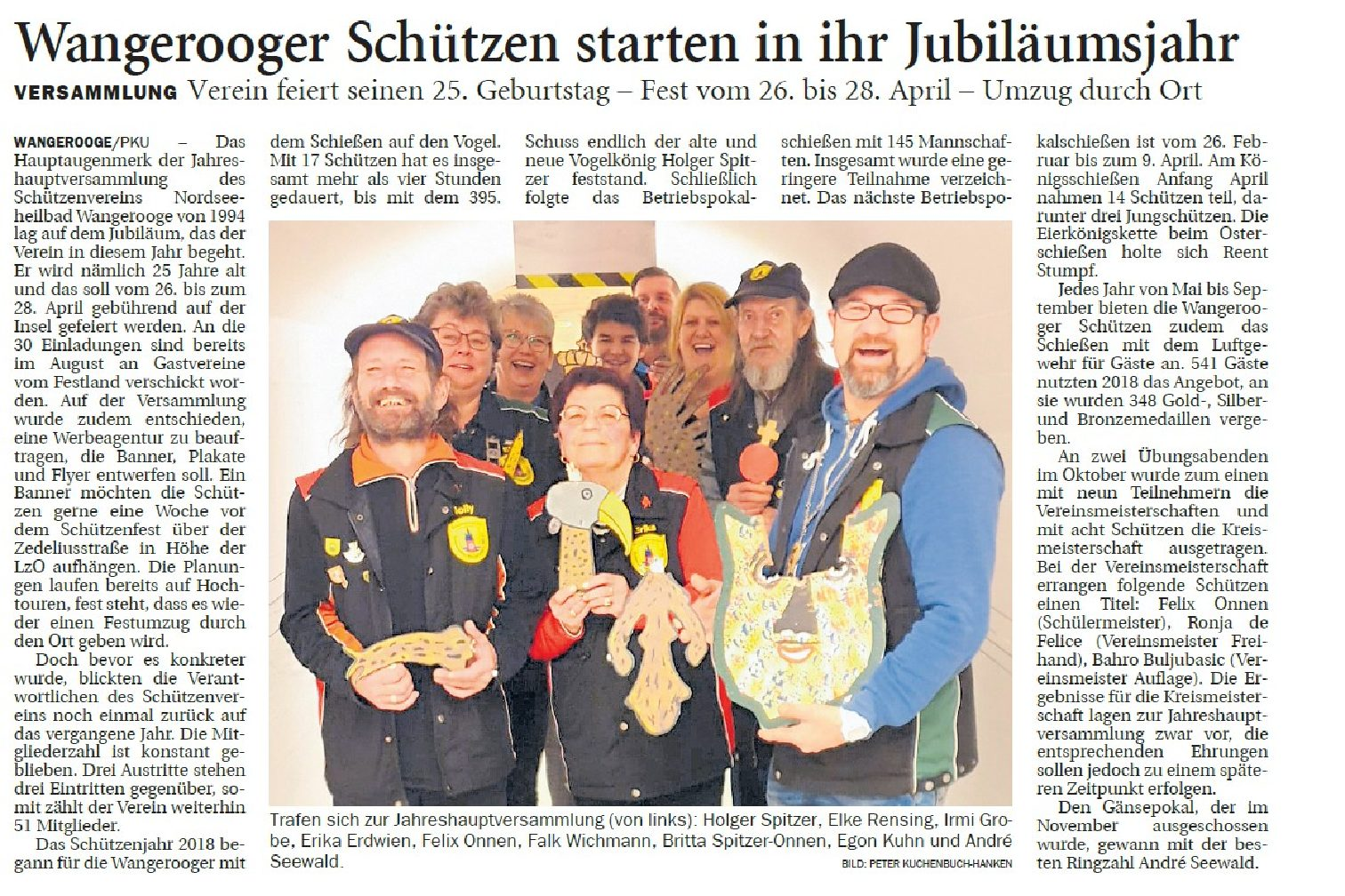 Jeversches Wochenblatt 13.02.2019 II