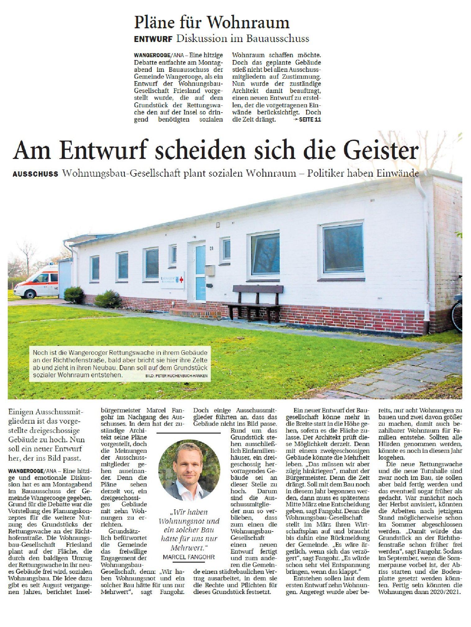 Jeversches Wochenblatt 13.02.2019