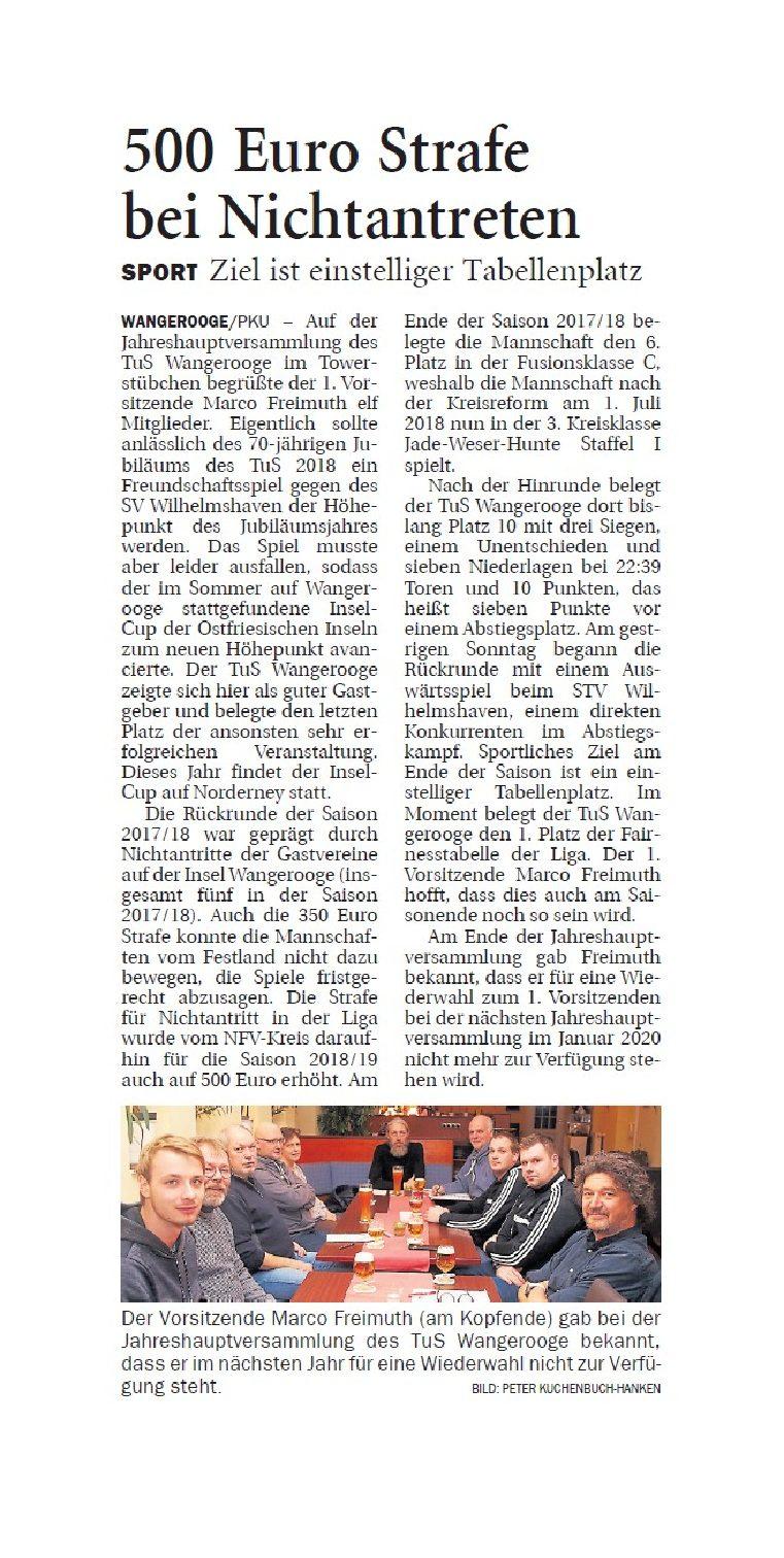 Jeversches Wochenblatt 18.02.2019 II