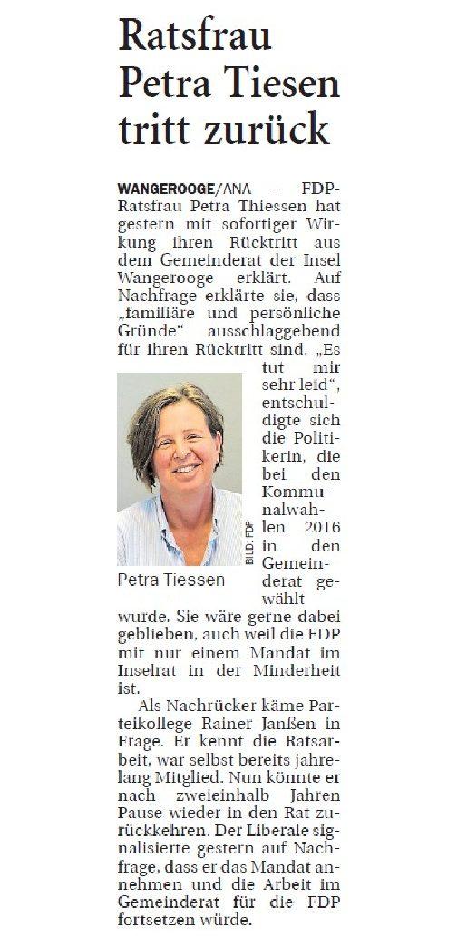 Jeversches Wochenblatt 14.03.2019