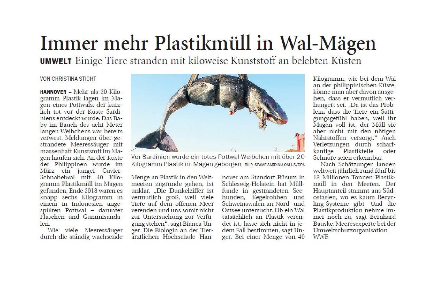 Jeversches Wochenblatt 08.04.2019