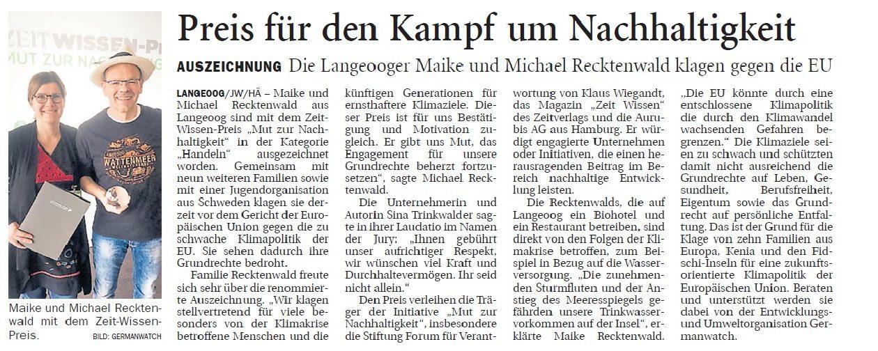 Jeversches Wochenblatt 09.04.2019 II