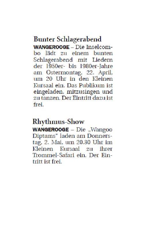 Jeversches Wochenblatt 20.04.2019 II