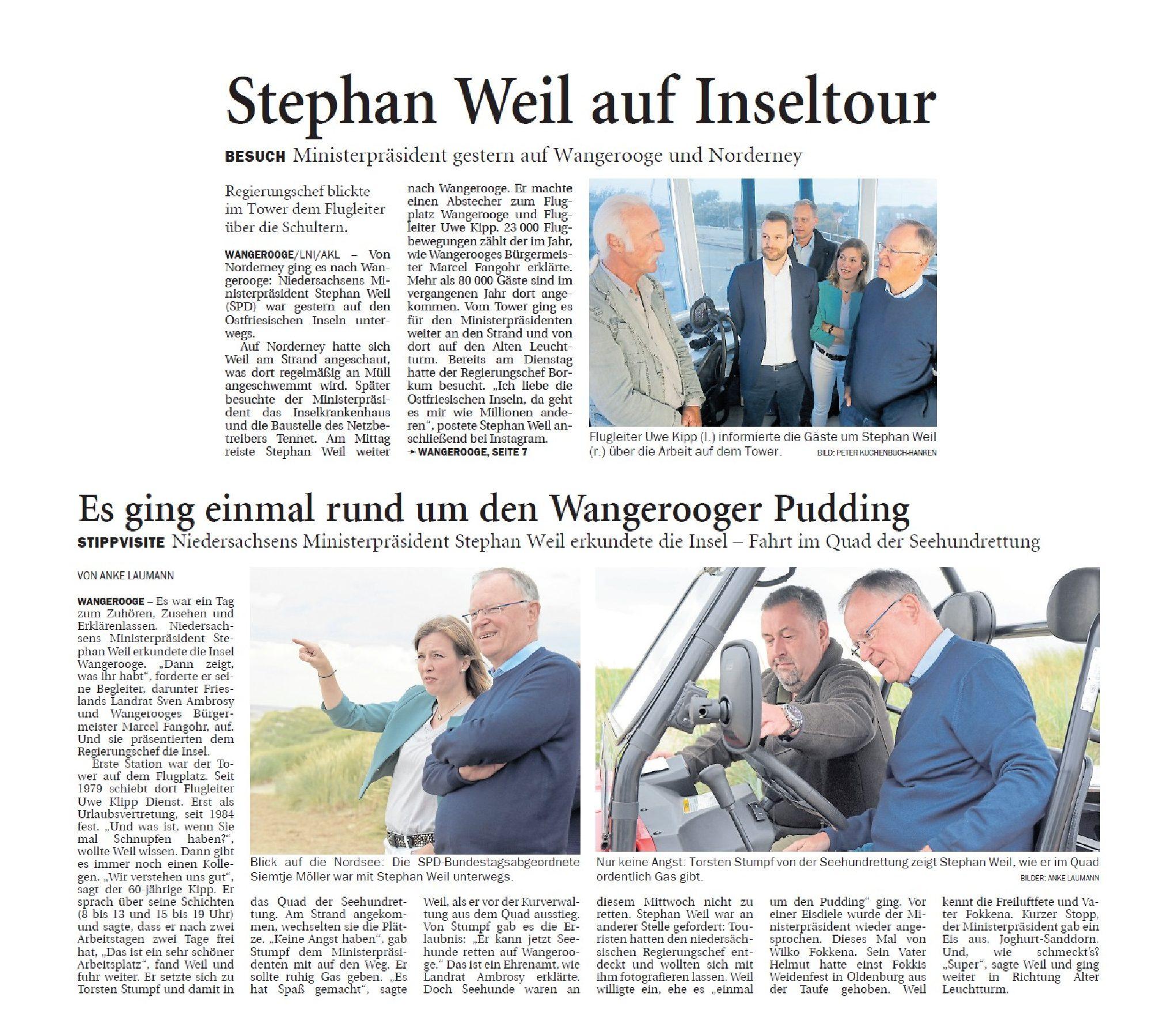 Jeversches Wochenblatt 15.08.2019 II