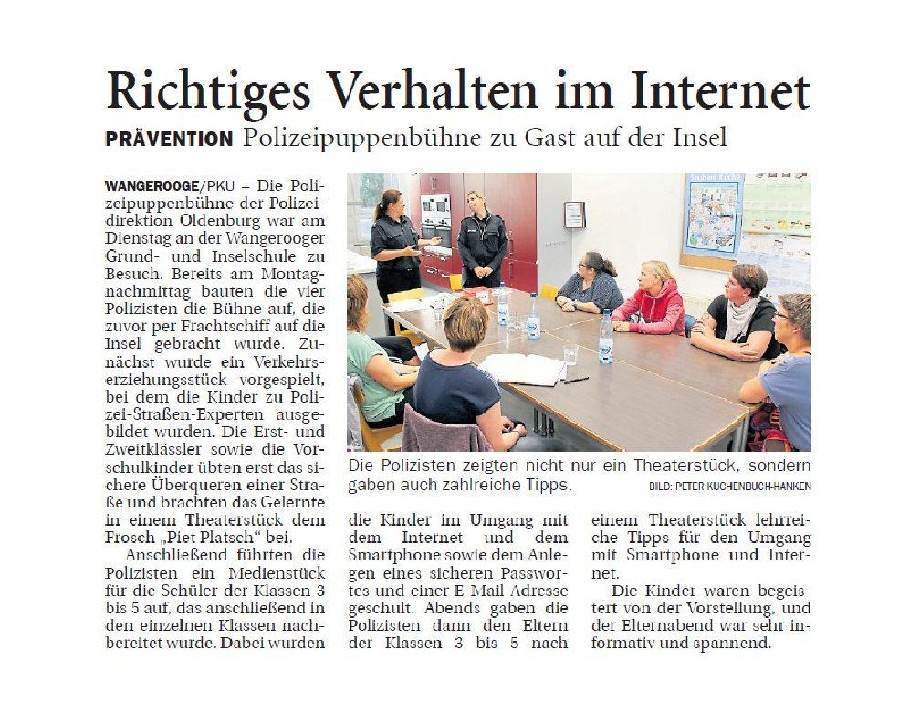 Jeversches Wochenblatt 23.08.2019