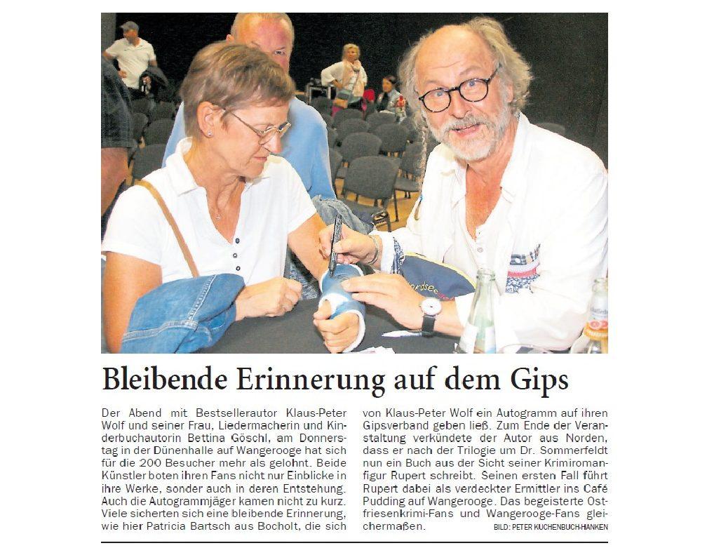 Jeversches Wochenblatt 24.09.2018
