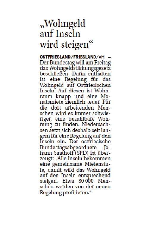 Jeversches Wochenblatt 17.10.2019