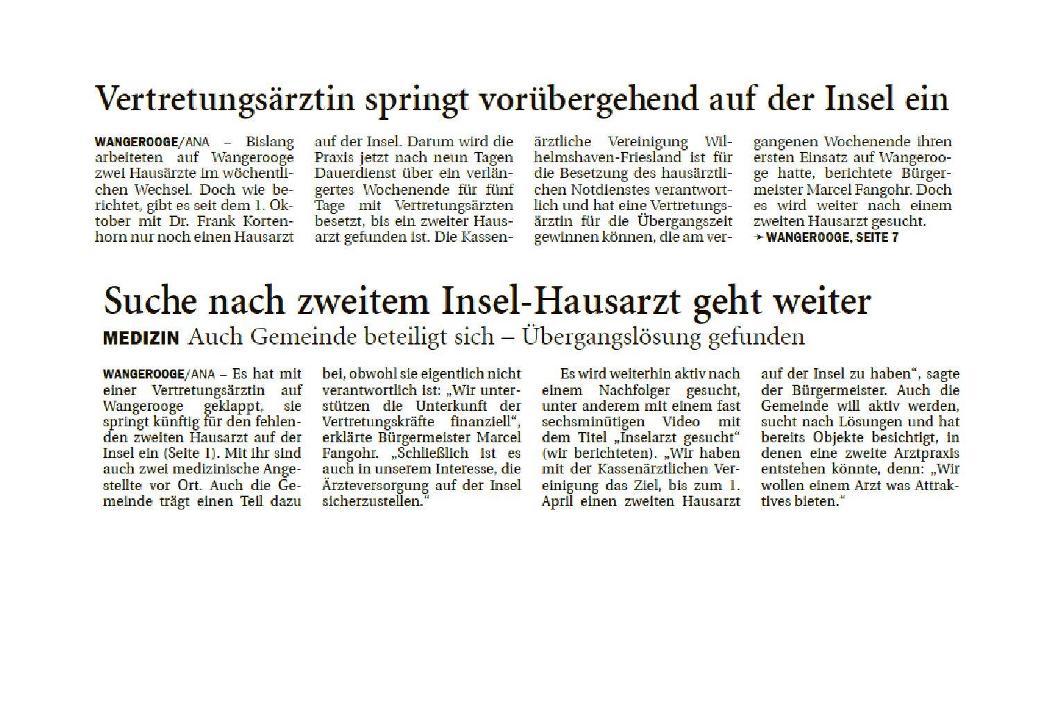 Jeversches Wochenblatt 18.10.2019 II