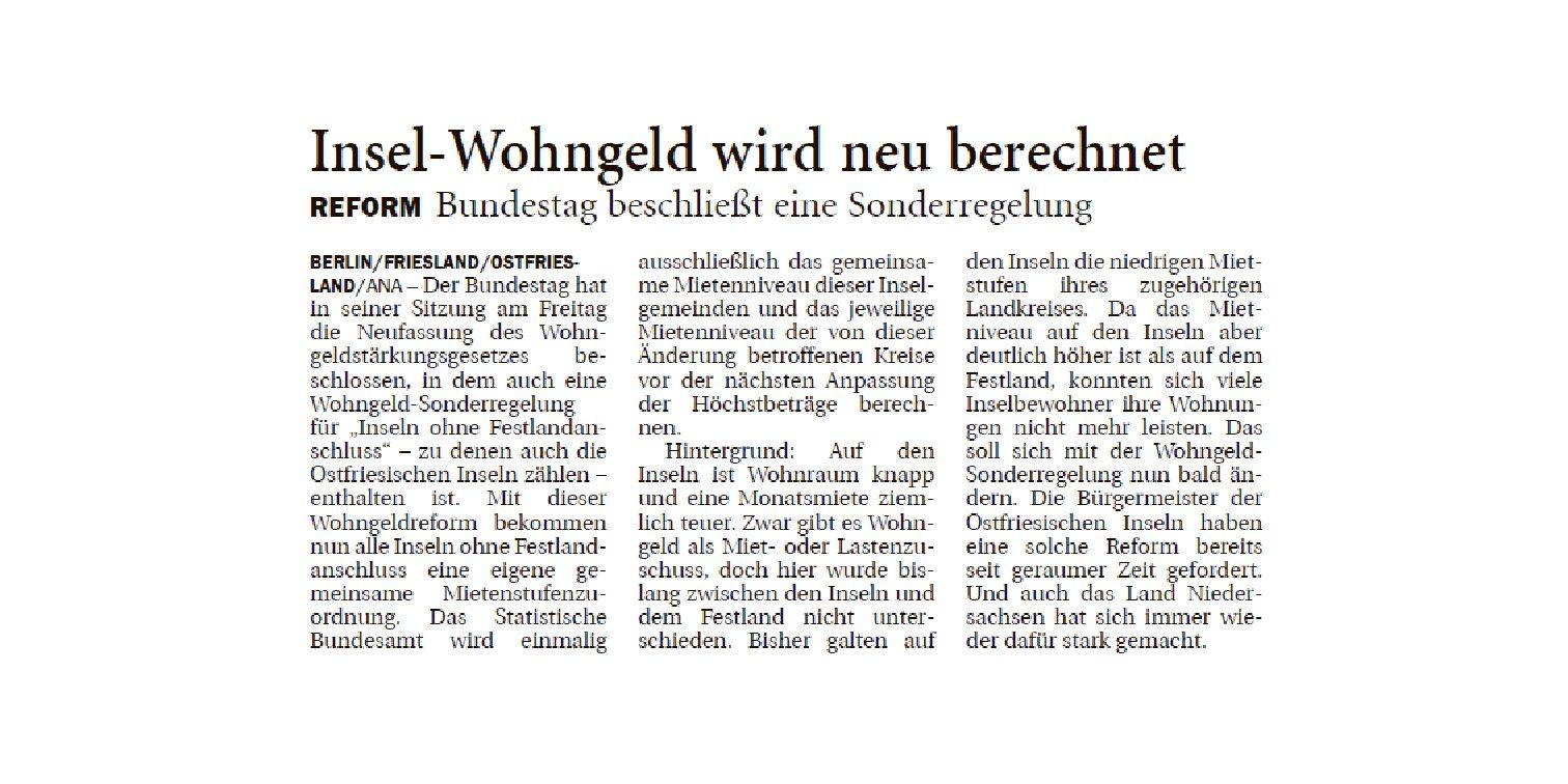 Jeversches Wochenblatt 21.10.2019