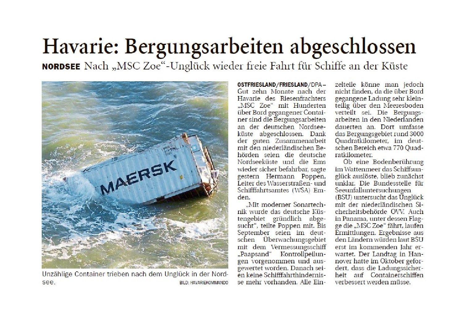 Jeversches Wochenblatt 14.11.2019