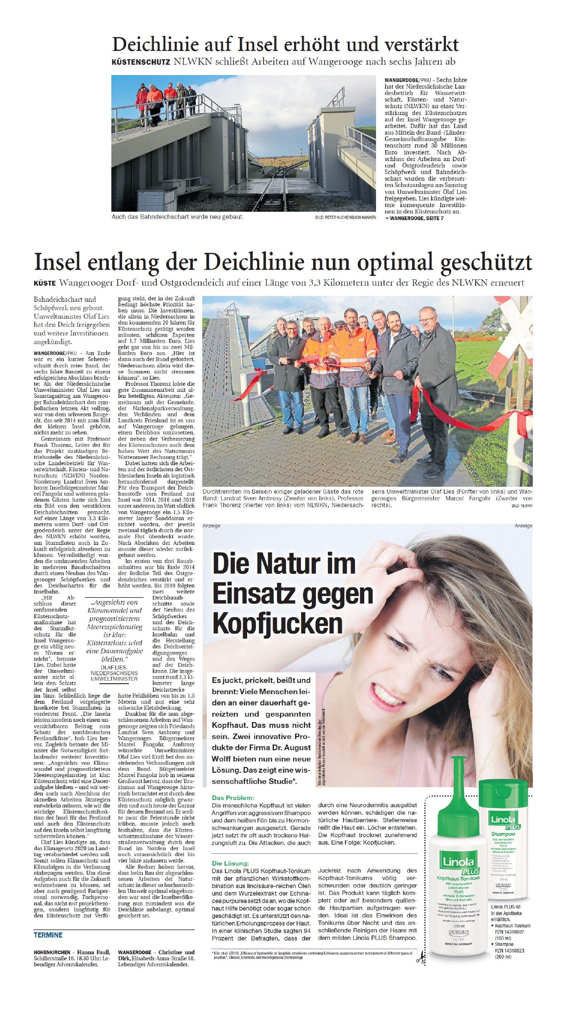 Jeversches Wochenblatt 02.12.2019