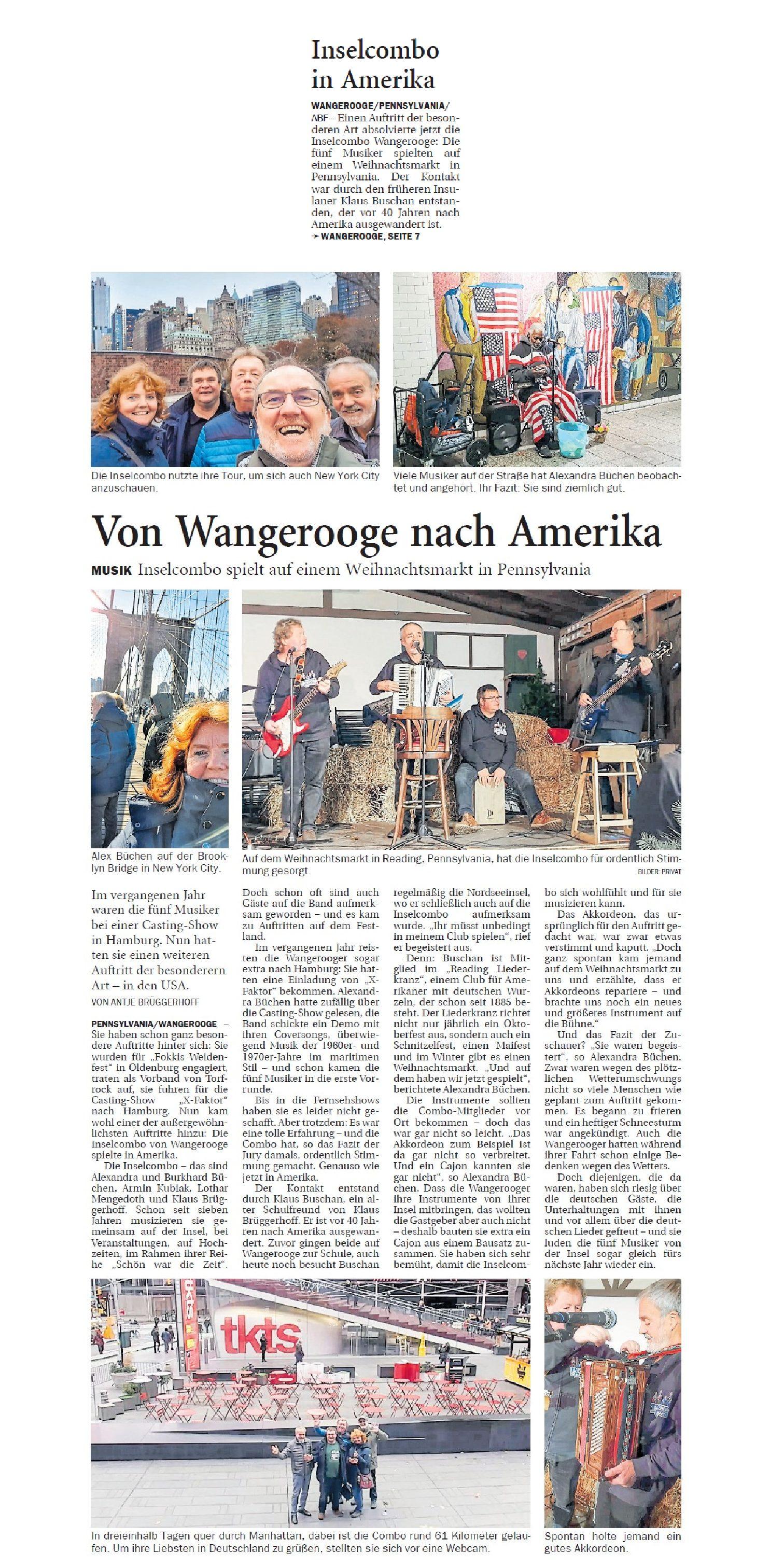 Jeversches Wochenblatt 06.12.2019