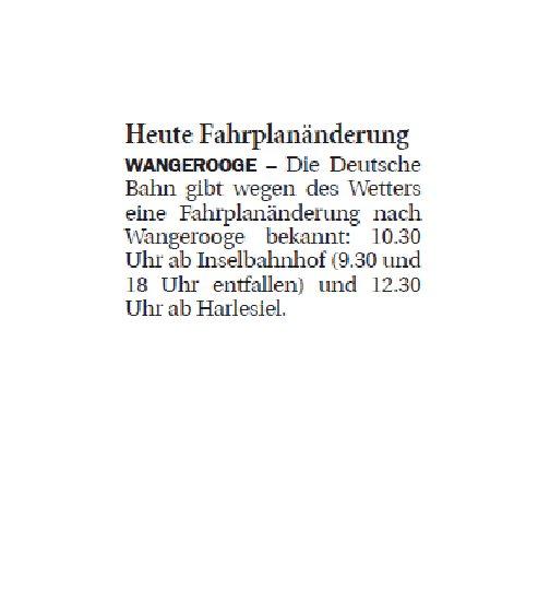 Jeversches Wochenblatt 09.12.2019