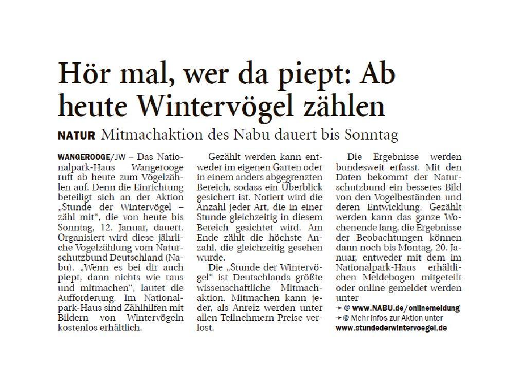 Jeversches Wochenblatt 10.01.2020 II
