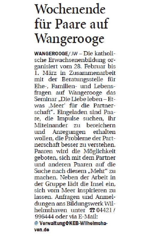 Jeversches Wochenblatt 14.01.2020 II
