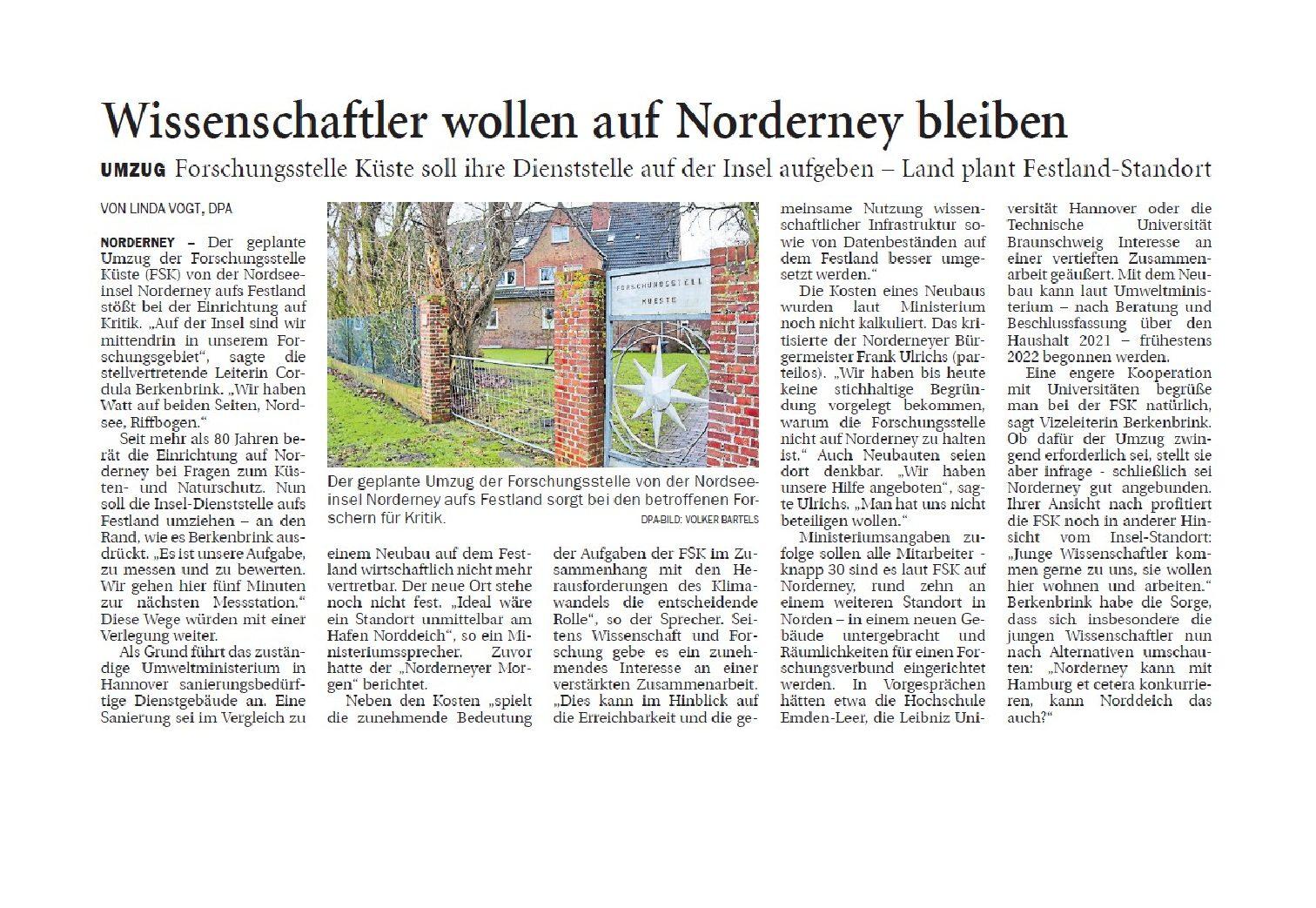 Jeversches Wochenblatt 14.01.2020 III