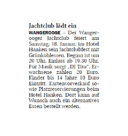 Jeversches Wochenblatt 16.01.2020 II