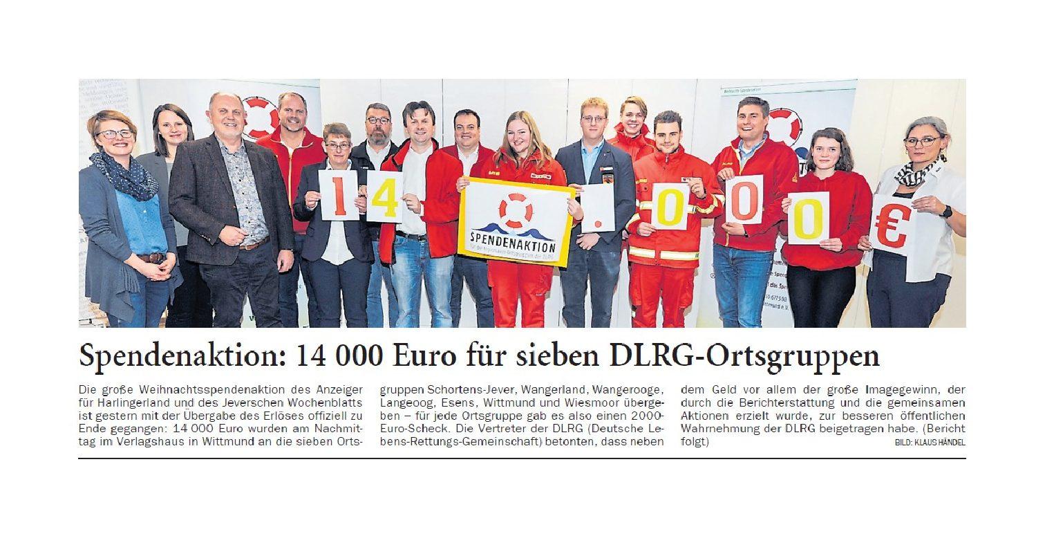 Jeversches Wochenblatt 18.01.2020