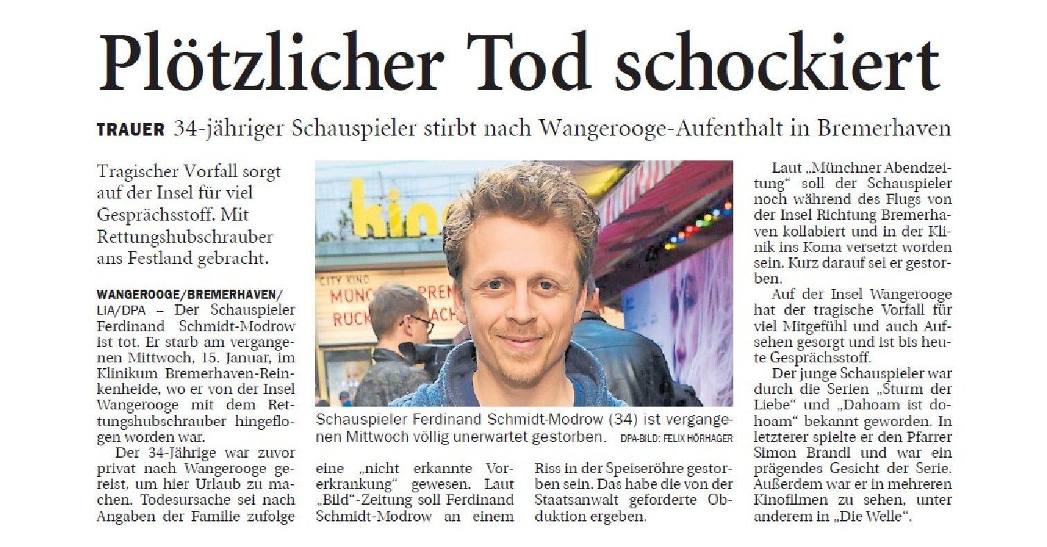 Jeversches Wochenblatt 20.01.2020