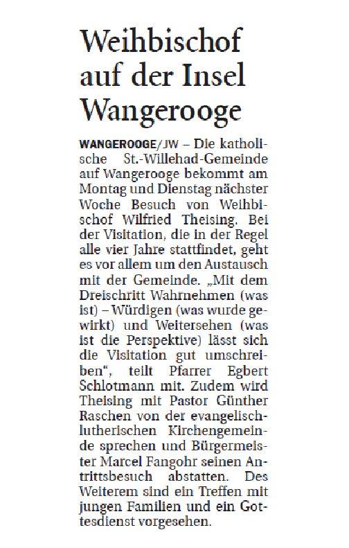 Jeversches Wochenblatt  21.01.2020 II