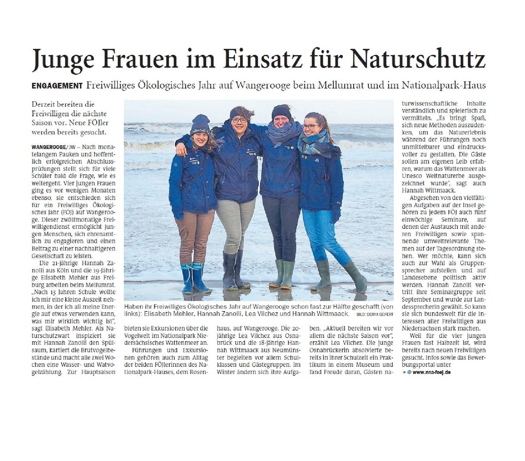 Jeversches Wochenblatt 07.02.2020