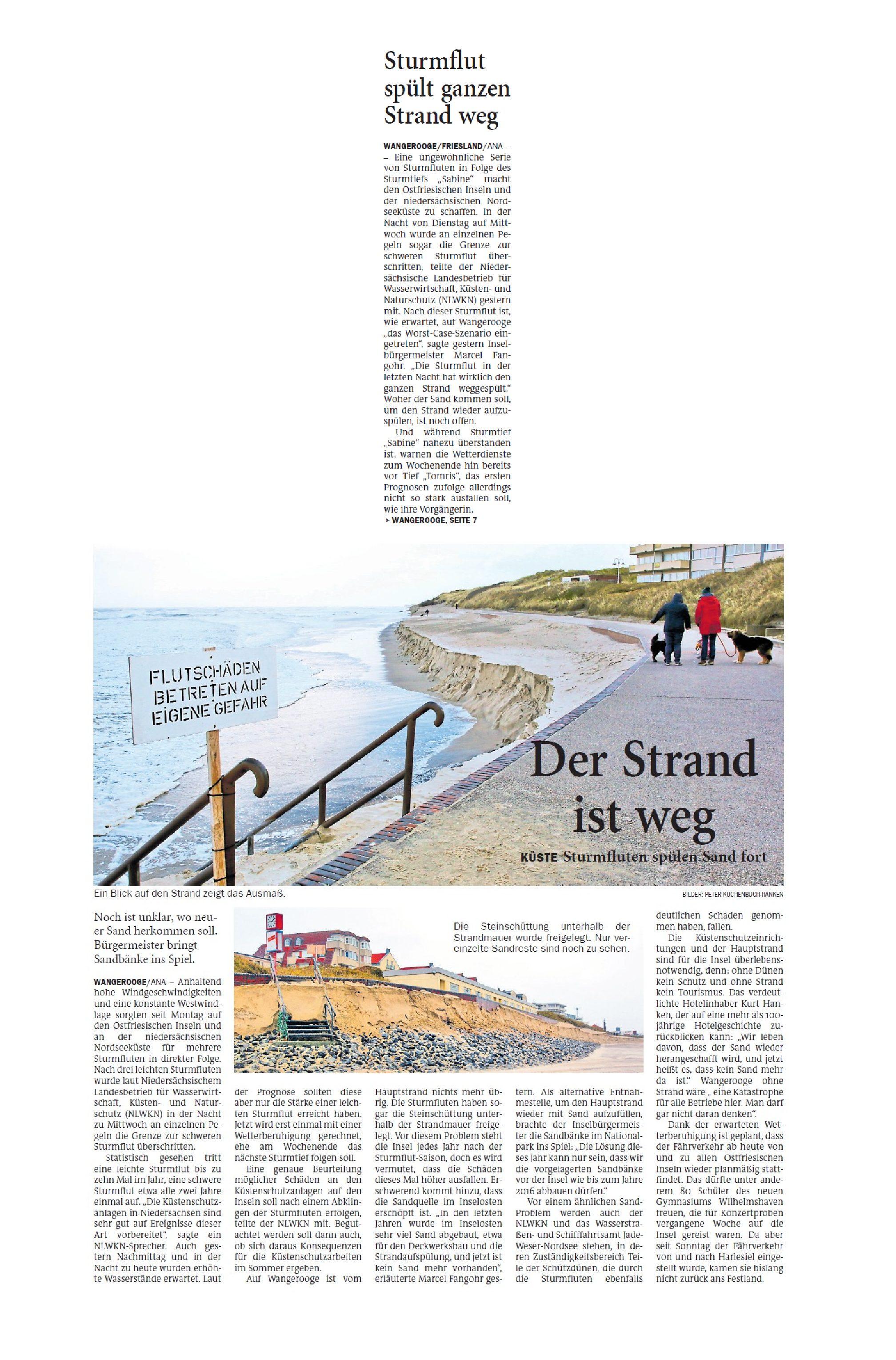 Jeversches Wochenblatt 13.02.2020