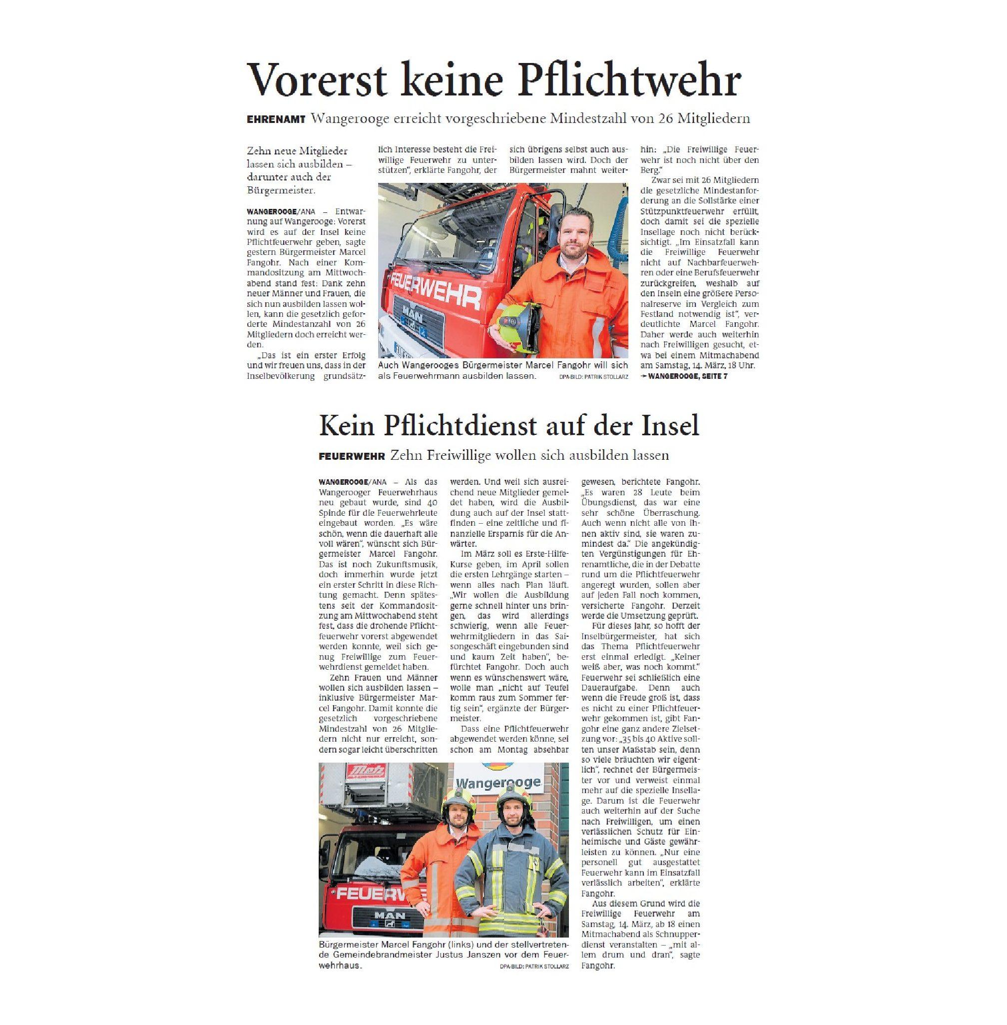 Jeversches Wochenblatt 14.02.2020 II