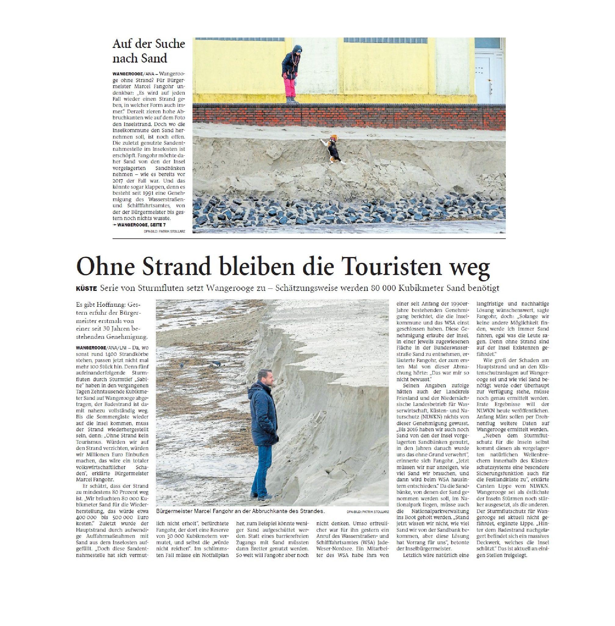 Jeversches Wochenblatt 14.02.2020