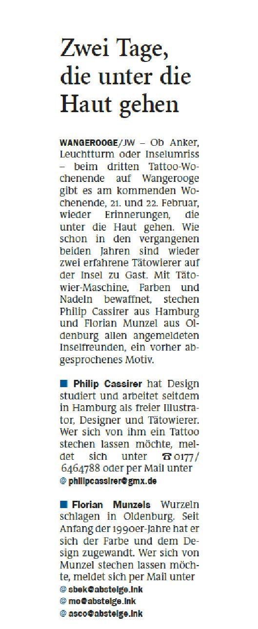 Jeversches Wochenblatt 17.02.2020 II