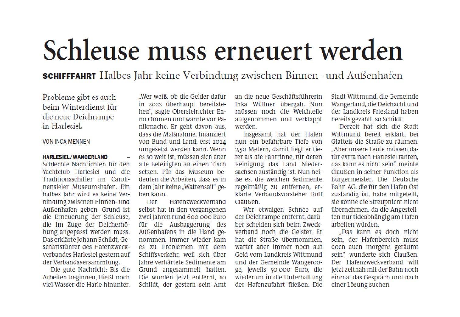 Jeversches Wochenblatt 18.02.2020 II
