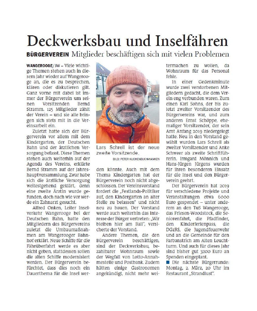 Jeversches Wochenblatt 20.02.2020 II
