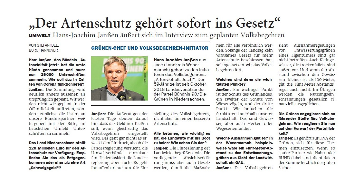 Jeversches Wochenblatt 13.05.2020 IV