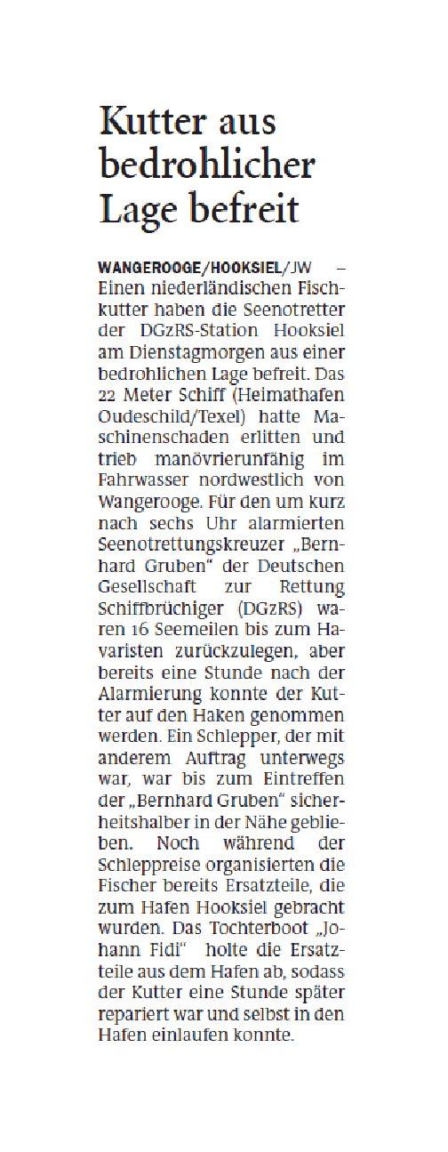 Jeversches Wochenblatt 14.05.2020
