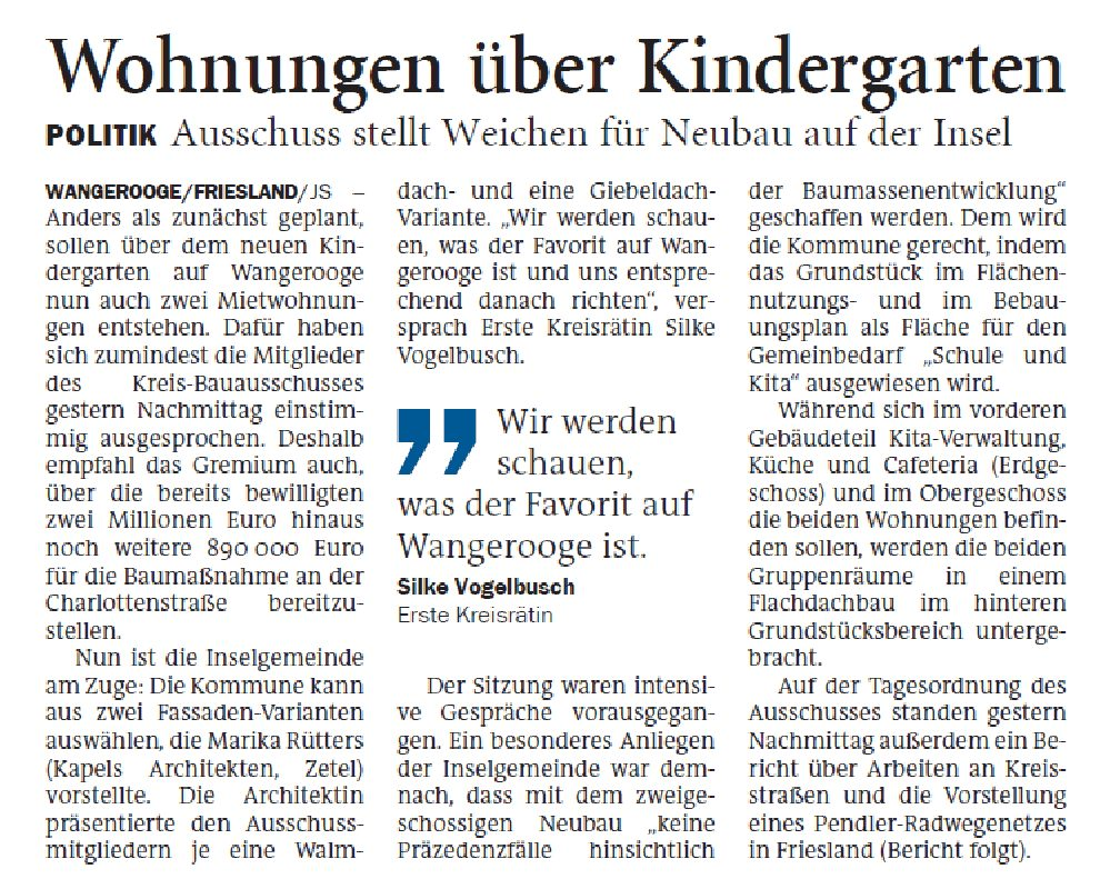 Jeversches Wochenblatt 19.05.2020