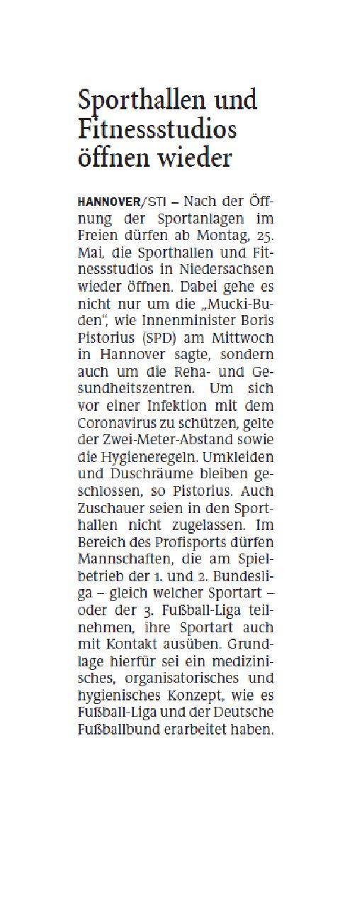 Jeversches Wochenblatt 22.05.2020 III