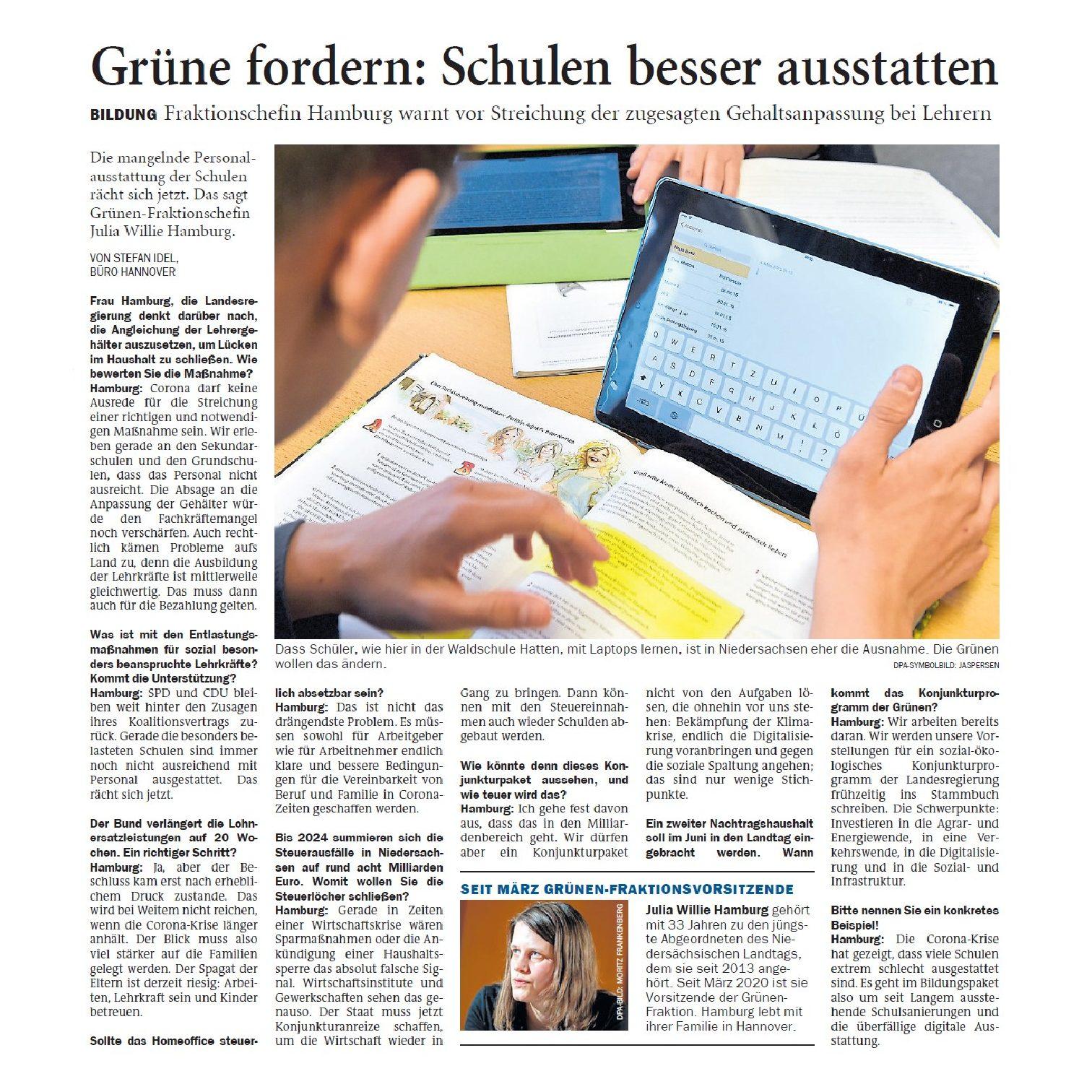 Jeversches Wochenblatt 23.05.2020 IV
