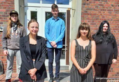 Schulabgänger Inselschule Wangerooge 2020