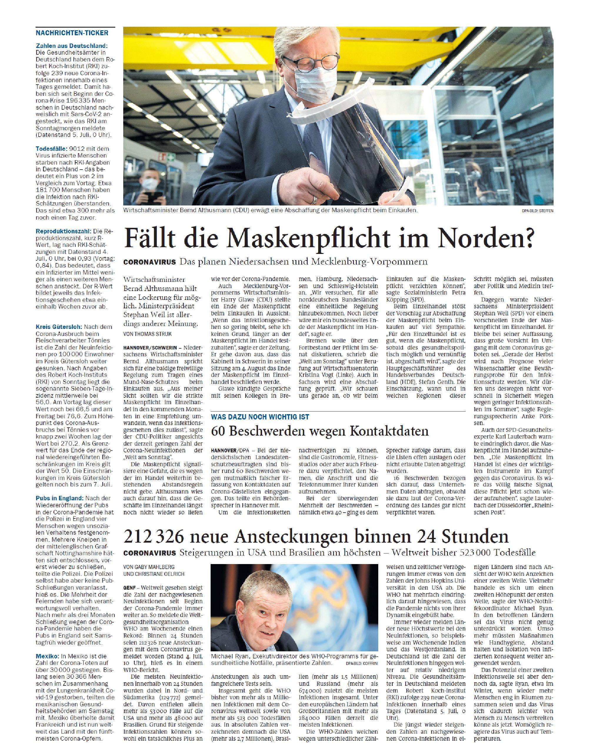 Jeversches Wochenblatt 06.07.2020 II