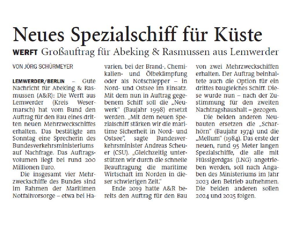 Jeversches Wochenblatt 06.07.2020