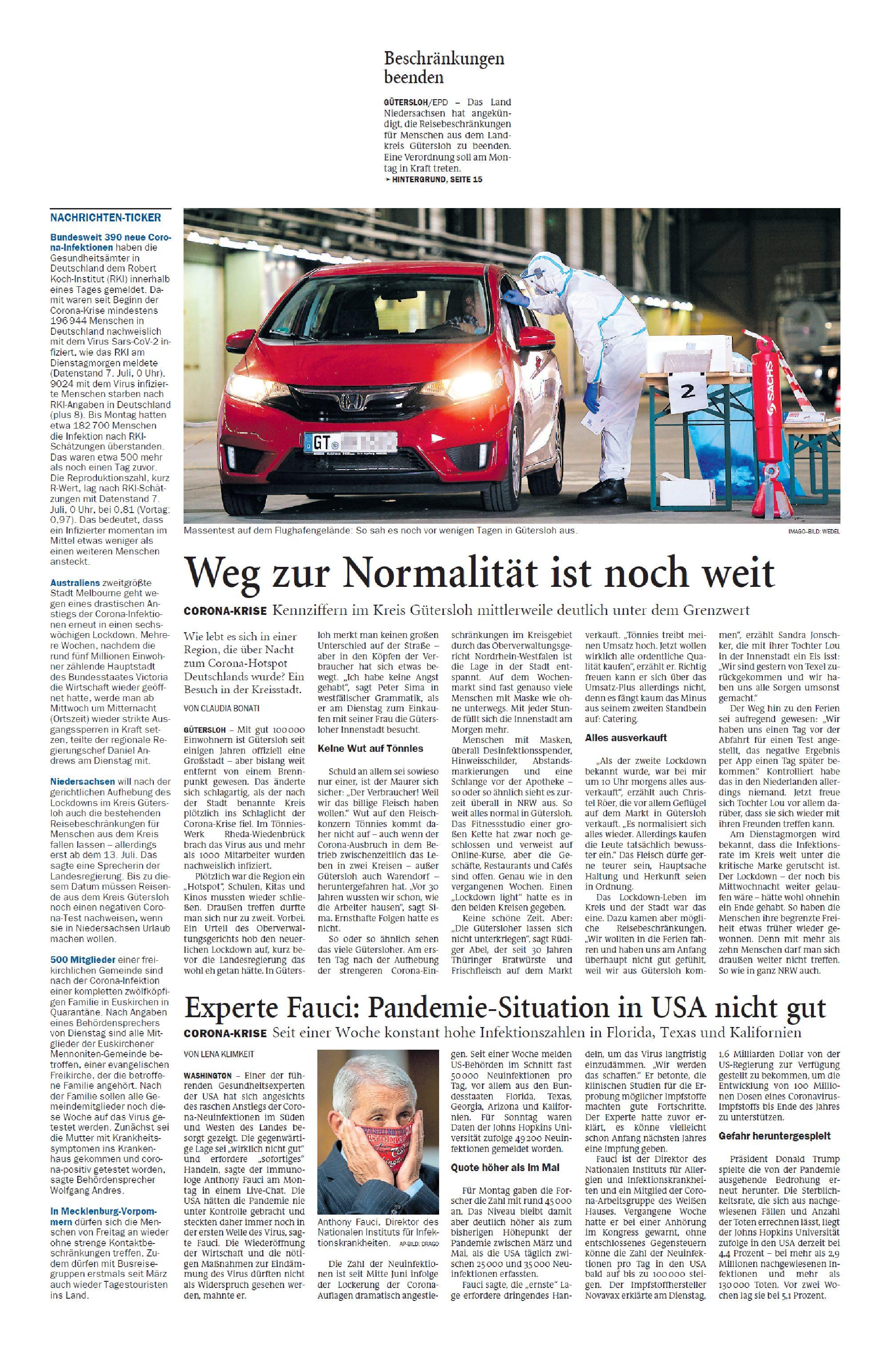 Jeversches Wochenblatt 08.07.2020 II