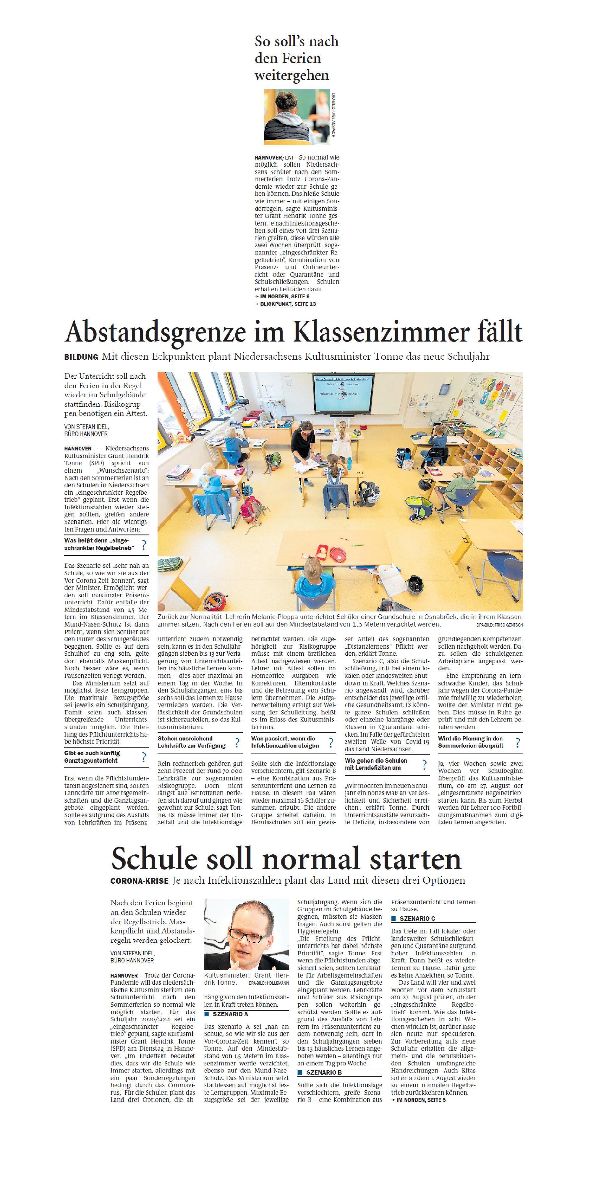 Jeversches Wochenblatt 08.07.2020 III