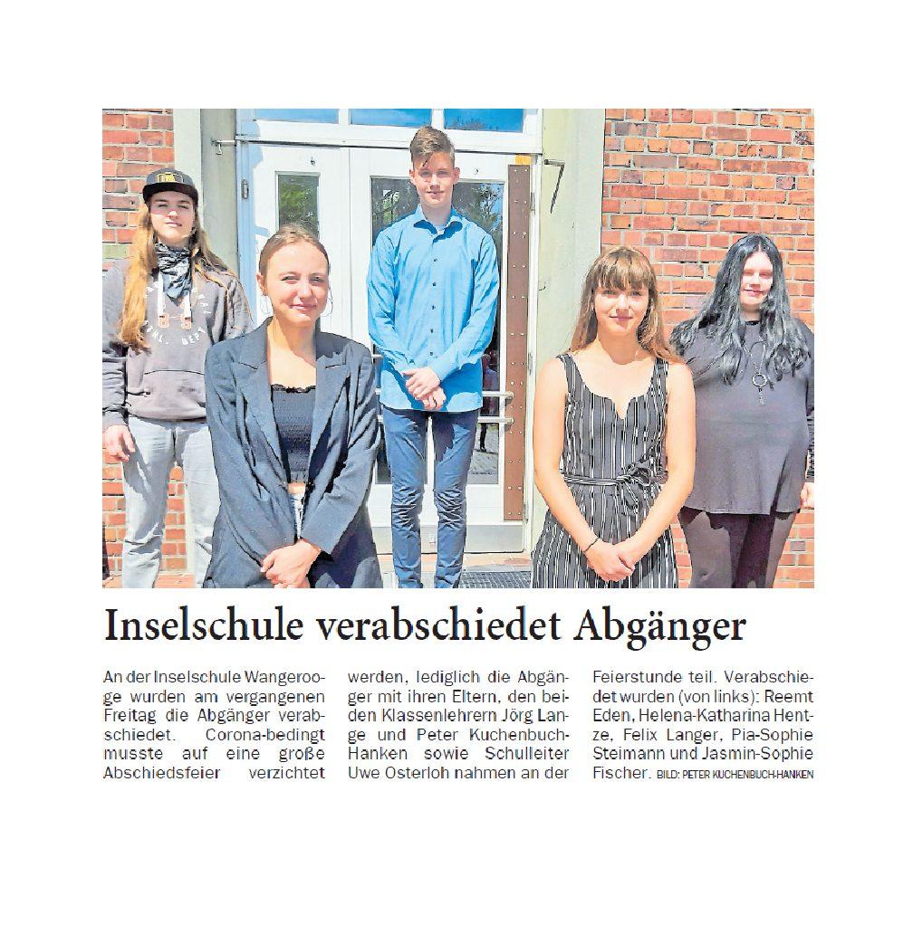 Jeversches Wochenblatt 08.07.2020