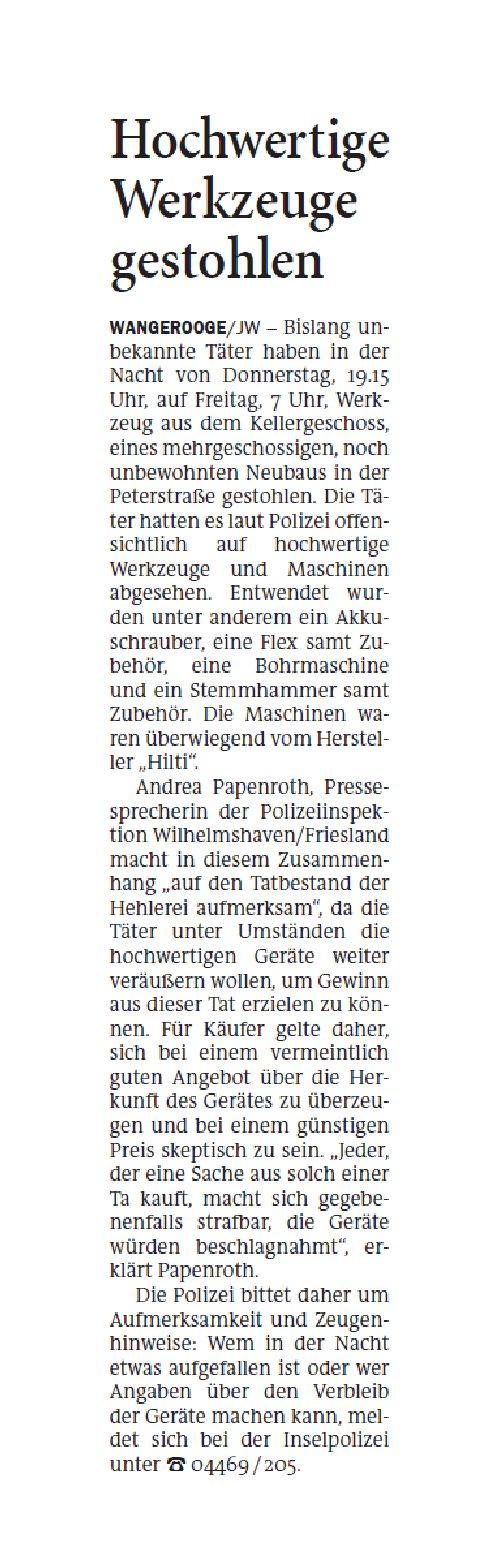 Jeversches Wochenblatt II